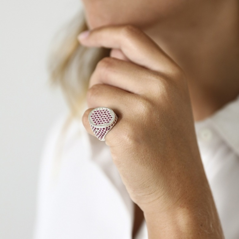 HLC - ZIRCON SIGNET RING  4