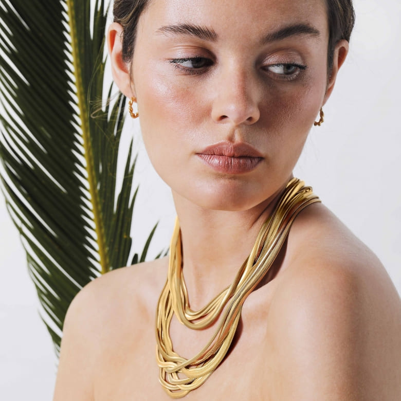 HLC - camouflage necklace 2