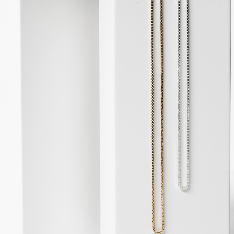 HLC - BOX MESH NECKLACE 1