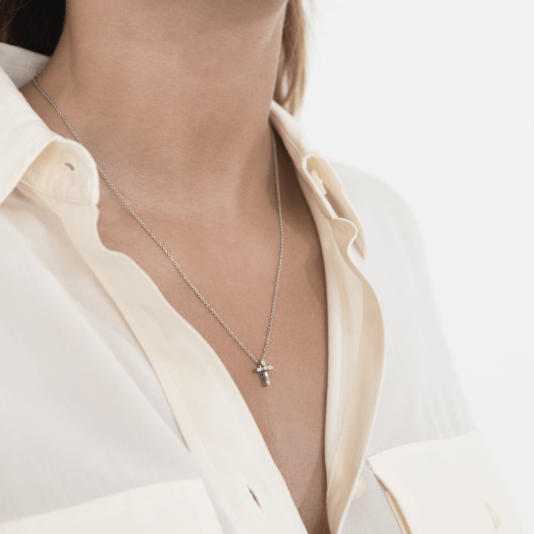 HLC - Diamond Cross Necklace 6