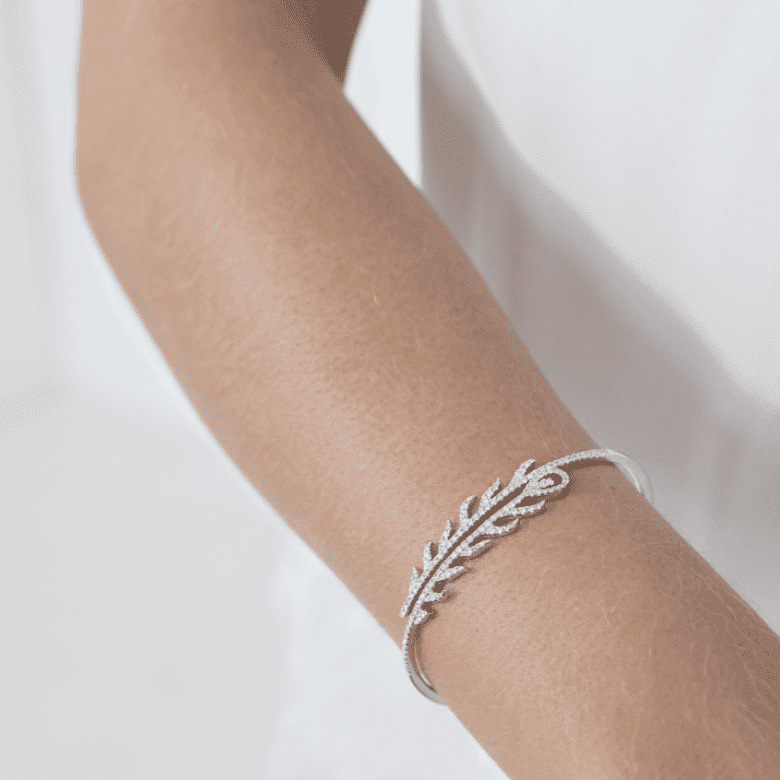 HLC - Diamond Leaf Bracelet 1