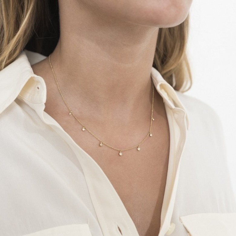HLC - Diamond Marbles Necklace 6