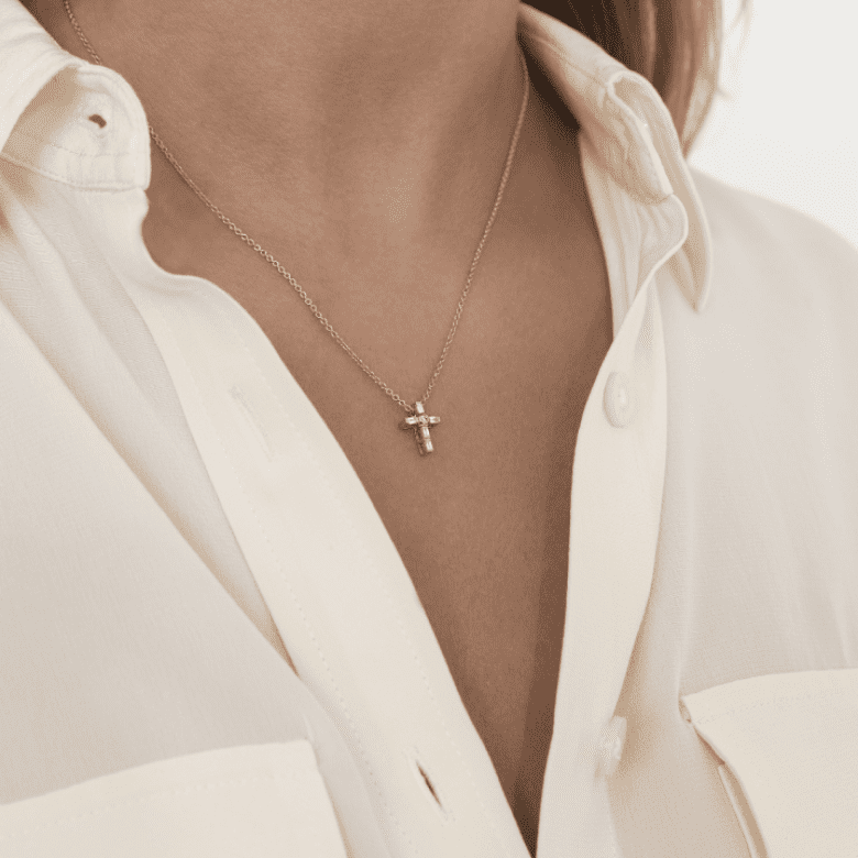 HLC - Diamond Cross Necklace 3