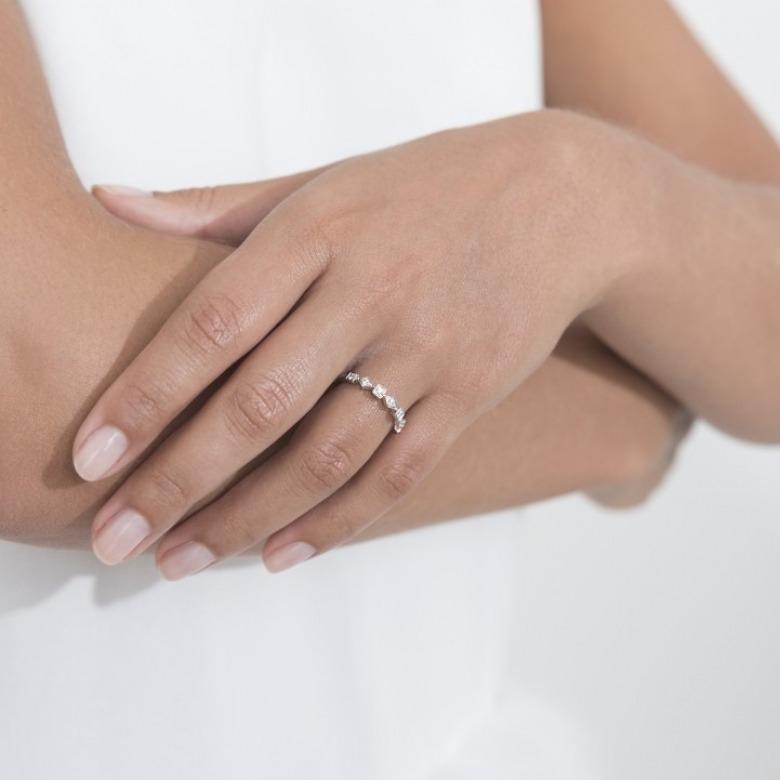 HLC - Diamond Geometric Ring 2