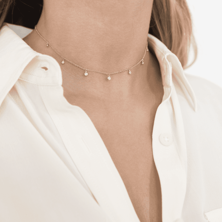 HLC - Diamond Marbles Necklace 3