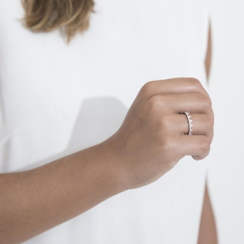 HLC - Diamond Triangle Ring 2