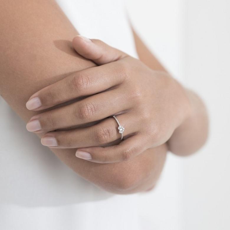 HLC - Diamond Heart Ring 2